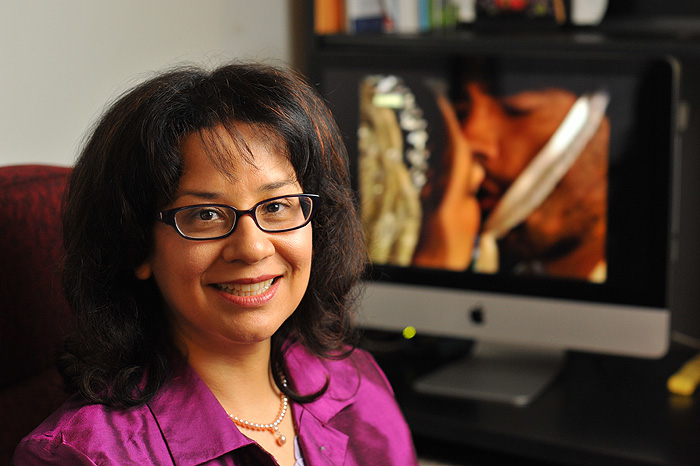 Diana Rios, associate professor of communication sciences.