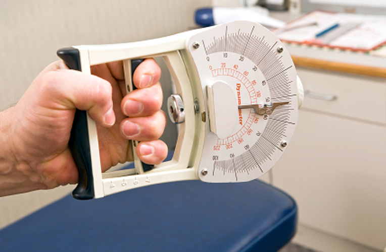 Hand Grip Dynamometer : Grip strength is good indicator of overall health uconn
