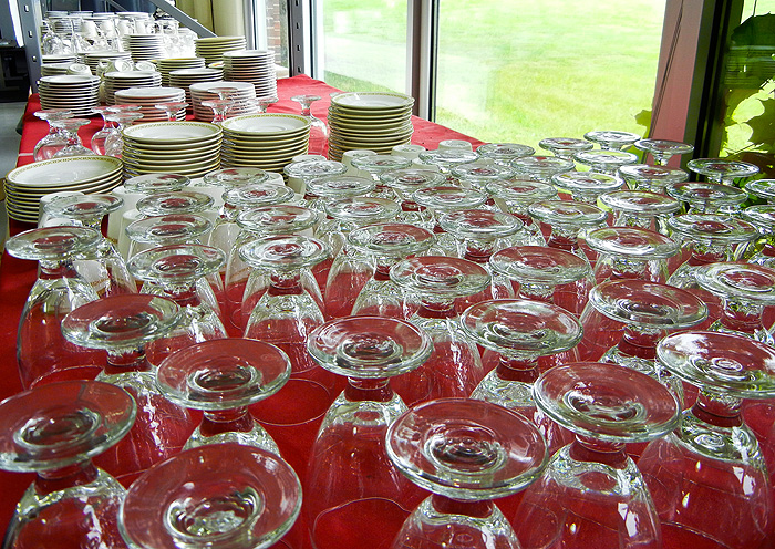Surplus items from Dining Services.