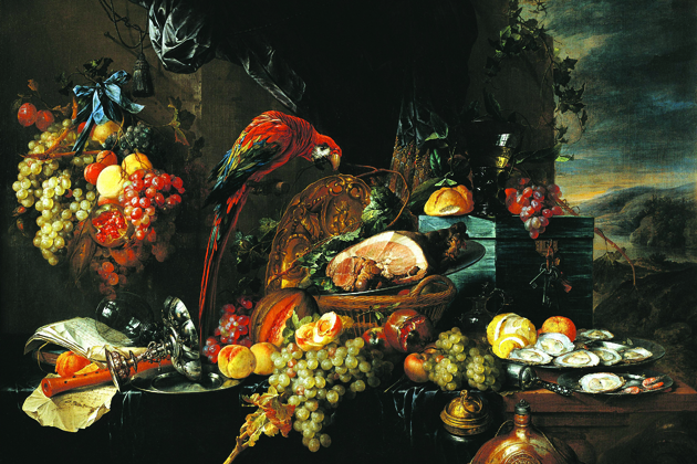 Austria, Vienna, oil on canvas Still life by Jan Davidsz de Heem