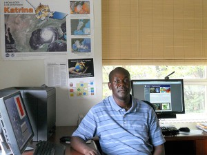 Richard Anyah, assistant professor of atmospheric science, Department of Natural Resources and the Environnmet (CANR)