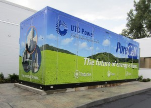A PureCell fuel cell system.