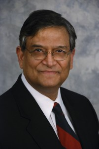 Pramod K. Srivastavak, M.D., Ph.D. (Janine Gelineau/UConn Health Center Photo)