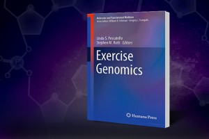 Exercise Genomics book cover.