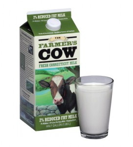 The Farmer's Cow milk.