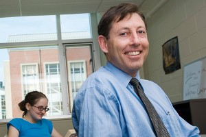 Thomas Deans, associate professor of English and director of the writing center.