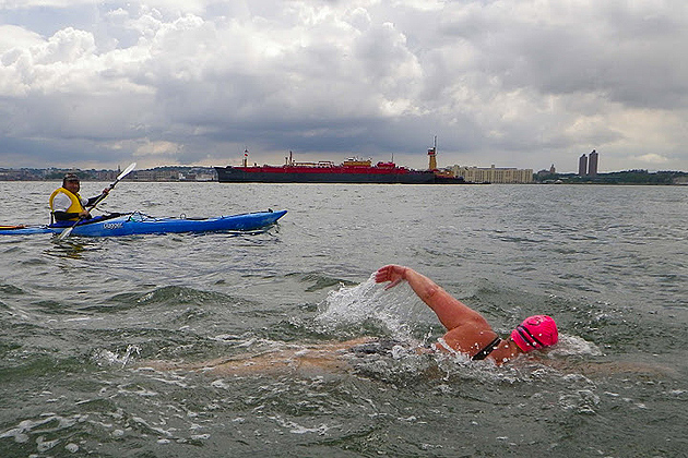 Theres No Stopping Long-Distance Swimmer Elizabeth Fry