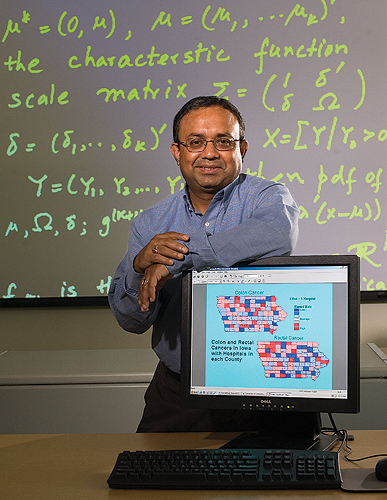 Dipak Dey, Board of Trustees Distinguished Professor of Statistics, is heading the Cigna Analytics Partnership. (Peter Morenus/UConn Photo)