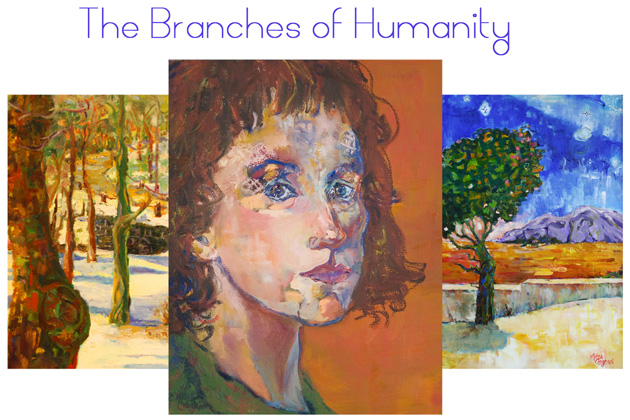 """""""The Branches of Humanity"""" artwork by Melissa Croghan"""