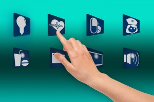 touch screen smart hospital