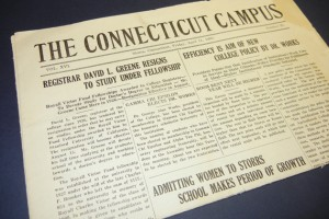 The Connecticut Campus, April 11, 1930.