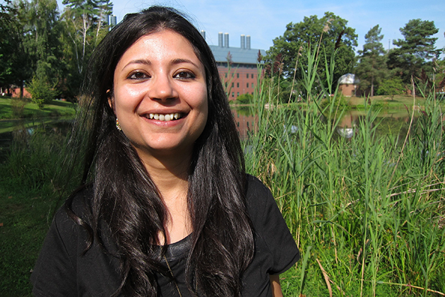 Debarchana Ghosh wants to know how proximity to particular services affects people's health. (Christine Buckley/UConn Photo)