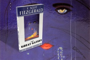 """A still life photo of the book """"The Great Gatsby"""" by F. Scott Fitzgertald. (Peter Morenus/UConn Photo)"""