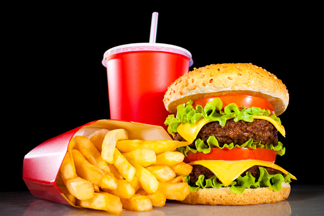 Photo of fast food.