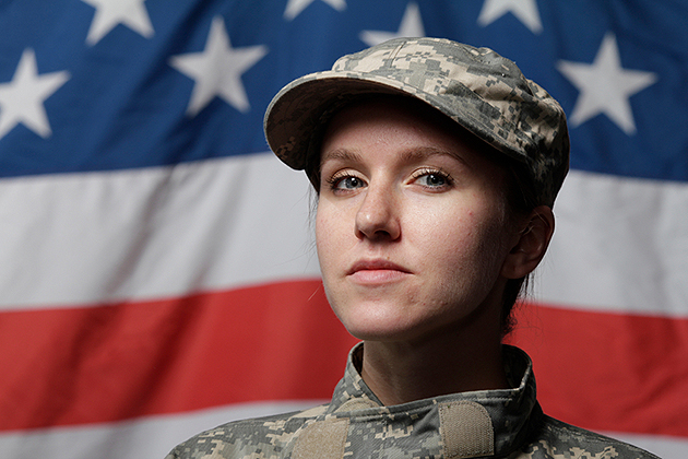 military maternity leave