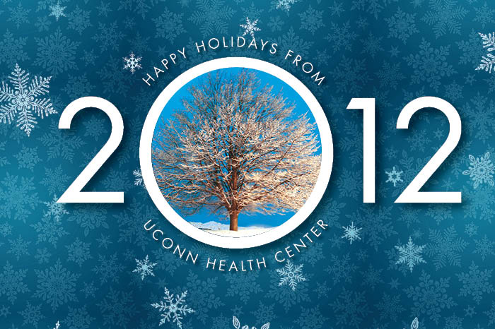Happy Holidays from UConn Health Center