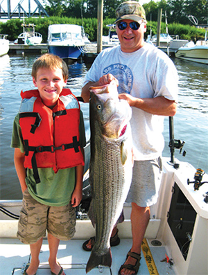 Recreational activities are the most important sector for Middlesex County, one of four coastal counties most involved in the maritime industry.