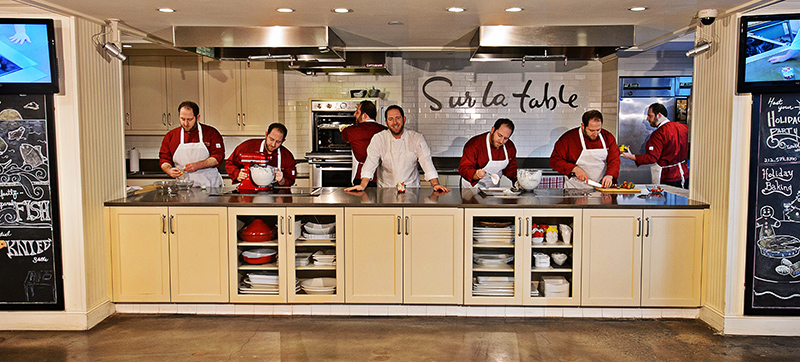Joel Gamoran '07 (CLAS) resident chef at Sur La Table in Manhattan