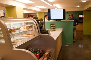The Department of Dining Services will provide tasty and nutritious food in the new student center. (Jeff Gonci/UConn Photo)