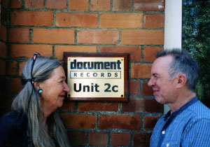 Gillian Rowe and Gary Atkinson, partners in Document Records. (Photo courtesy of Gary Atkinson)
