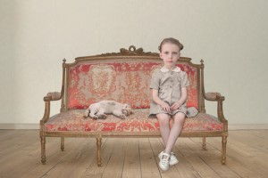 Uncanny: The Waiting Girl, Loretta Lux, 2006 from a September 2013 exhibit. (Image courtesy of Contemporary Art Galleries)