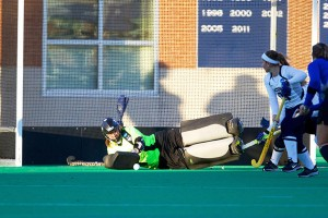 Senior goaltender Sarah Mansfield. (Keith Lucas for UConn)