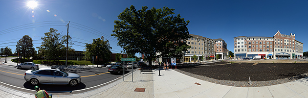 Panorama photo of Storrs Road.