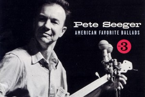 The CD cover for one volume in a set of recordings of Pete Seeger performing selections from America's folk song heritage. (Courtesy of Smithsonian Folkways Recordings)