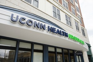 UConn Health officially opened its Urgent Care Center in downtown Storrs in March. (Peter Morenus/UConn Photo)