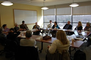 AHEC Faculty meeting. (Photo provided by Petra Clark-Dufner)