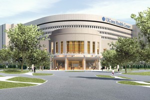Rendering of UConn Health academic building