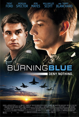 Poster for 'Burning Blue.' (Photo courtesy of Lionsgate Films)