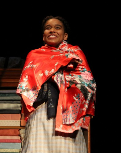"""Khetanya Henderson '14 MFA as Esther Mills in """"Intimate Apparel."""" (Courtesy of CRT)"""