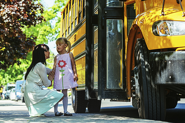The sight of a familiar yellow school bus is a sure sign that the school year has started. (istock photo)