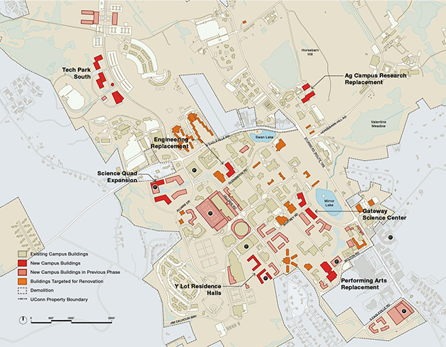 Master Plan Presents 20 Year Vision For Storrs Campus Uconn Today
