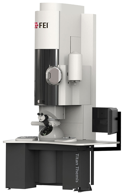 FEI's flagship microscope, Titan Themis TEM, is capable of more than one-hundred million times magnification, allowing scientists to see the individual atoms that materials are made of, determine their arrangement, and measure the electrical and magnetic forces they exert on one another. The Titan Themis will be one of the instruments housed at a new cutting-edge center for microscopy and materials science research to be located at UConn's Tech Park.