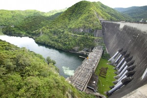 The power station at the Bhumibol Dam in Thailand. (Shutterstock Photo)