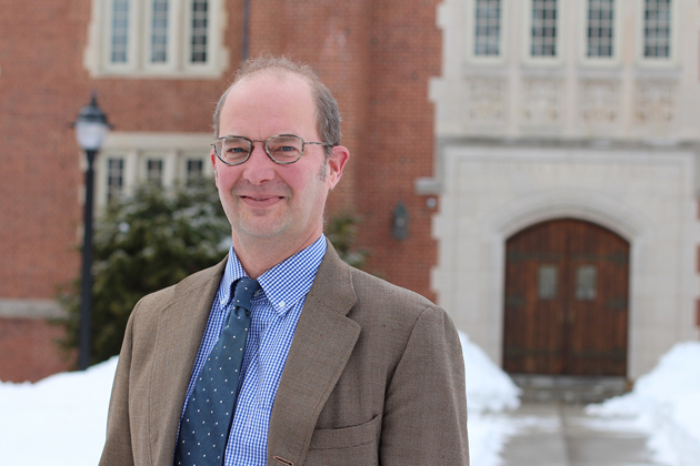 Daniel Caner, associate professor of history and literatures, cultures, and languages. (Bri Diaz/UConn Photo)