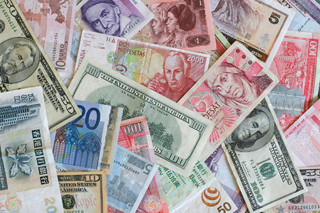 Foreign Currencies And The U S Dollar Istock Photo