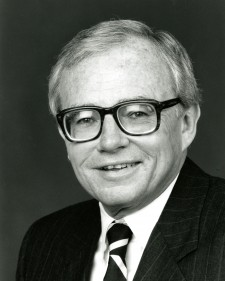 Harry Hartley, UConn's 12th President. (University of Connecticut Photograph Collection, Archives & Special Collections, UConn Libraries)