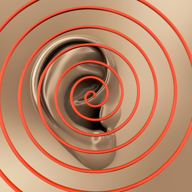 Illustration of an ear with waves emanating. (iStock Image)