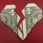 A torn dollar heart. (iStock Photo)