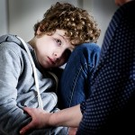 An anxious child. (iStock Photo)