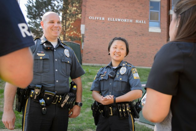 Police Department Welcomes Incoming Class - UConn Today