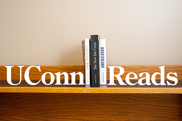 UConn Reads 2015 - the short list. (Sean Flynn/UConn Photo)