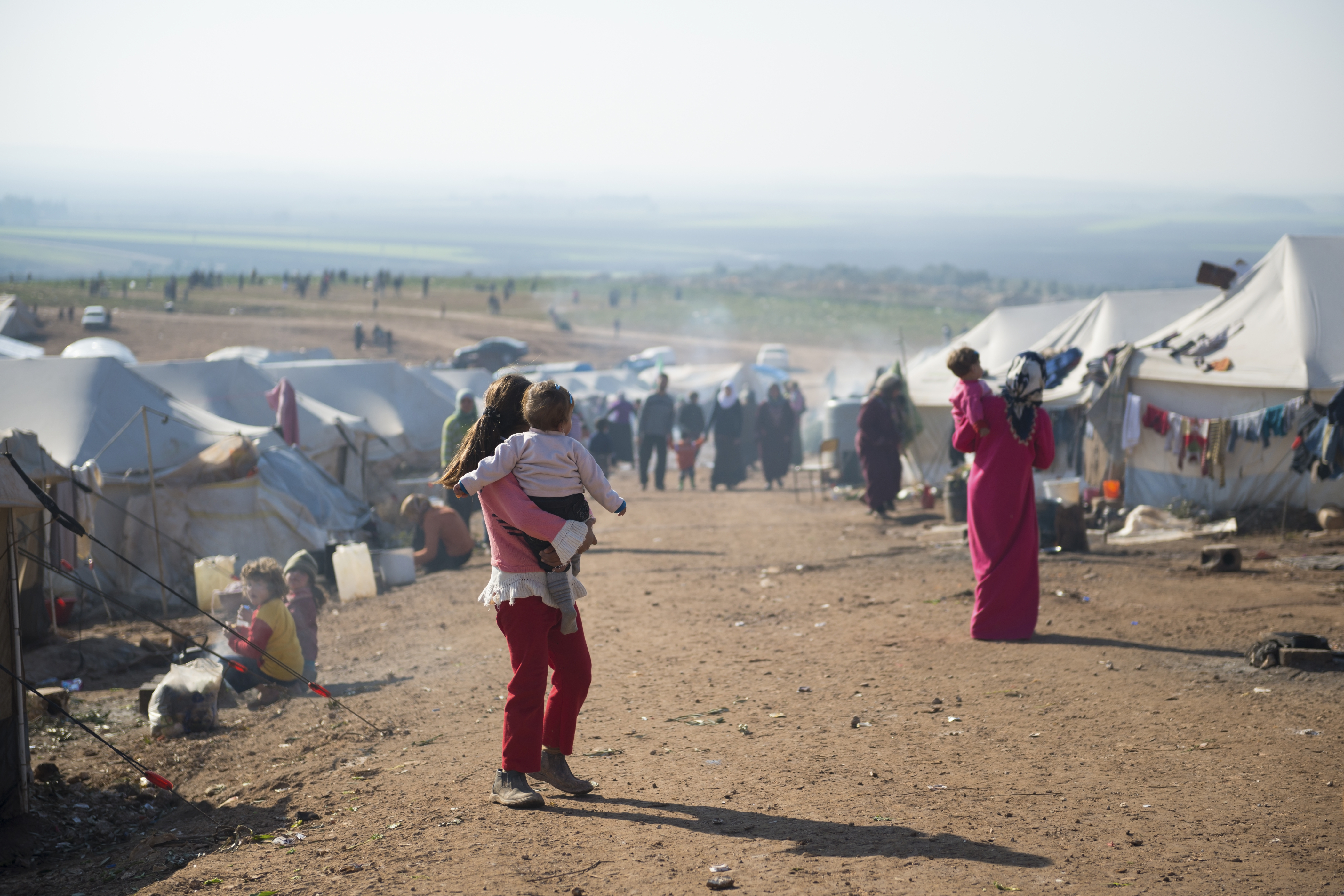 The syrian refugee crisis in america