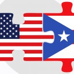 U.S. and Puerto Rico flags as pieces of a puzzle. (iStock Image)