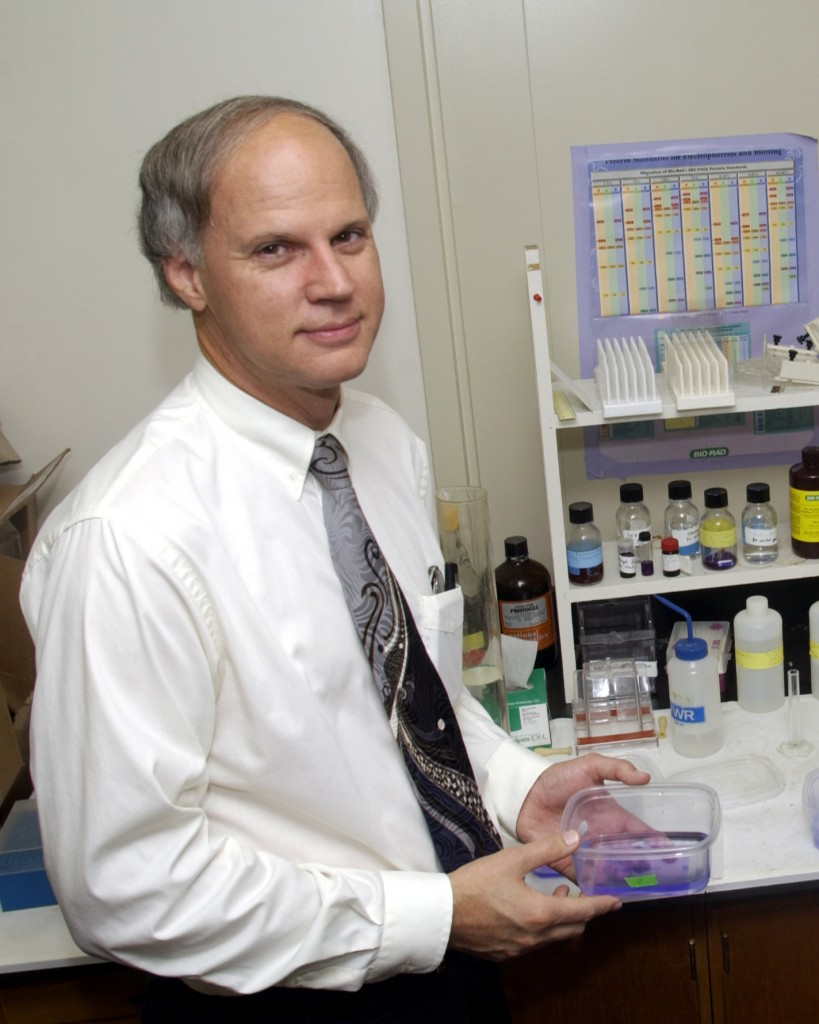 Philip Yeagle, emeritus professor of molecular and cell biology. (UConn File Photo)