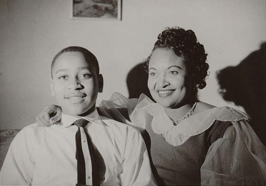 Emmett and Mamie Till. (Source: The Mamie Till Mobley Foundation)