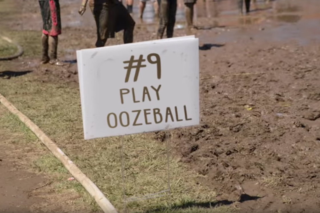 Oozeball. (Elizabeth Caron/UConn Photo)
